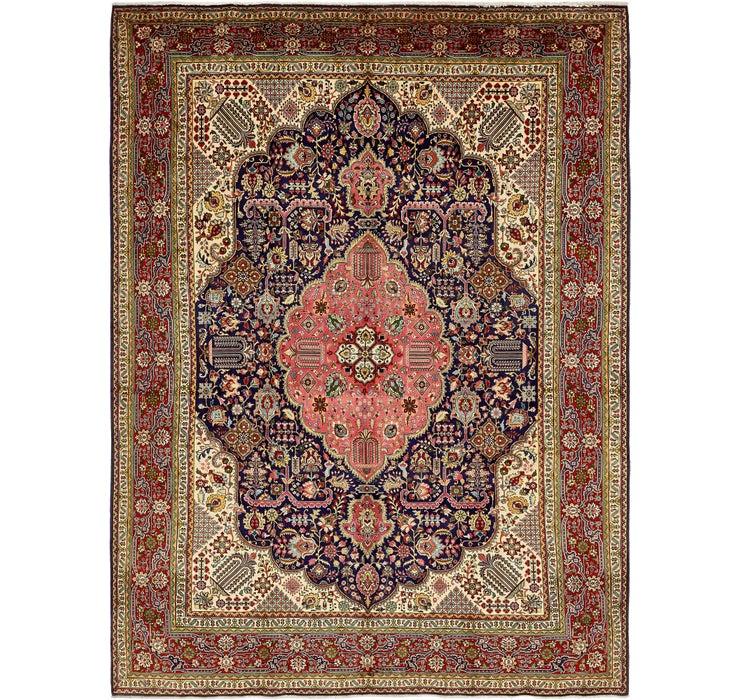 9' 7 x 13' 4 Tabriz Persian Rug