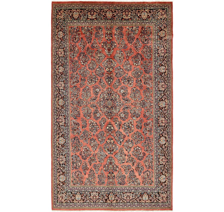 275cm x 478cm Sarough Persian Rug