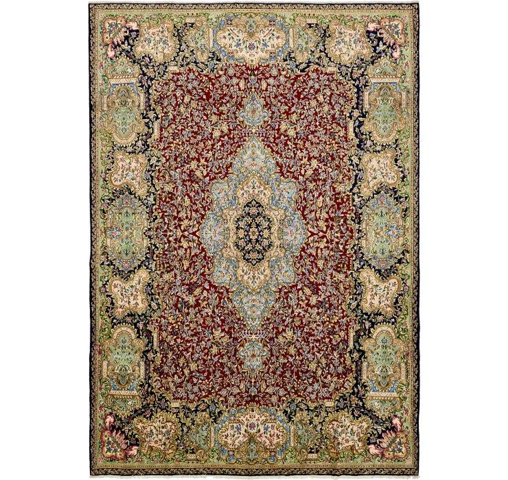 343cm x 495cm Kerman Persian Rug