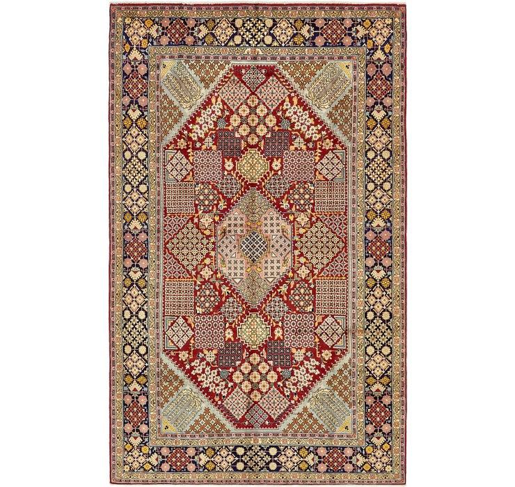 198cm x 325cm Isfahan Persian Rug
