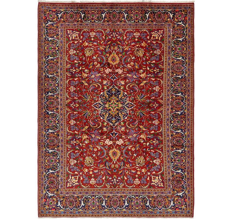 7' 10 x 11' Sarough Persian Rug