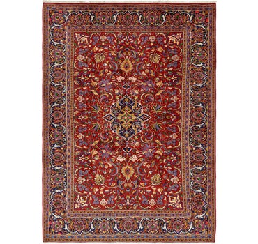 7' 10 x 11' Sarough Persian Rug main image