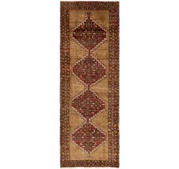4' 4 x 12' 7 Zanjan Persian Runner Rug