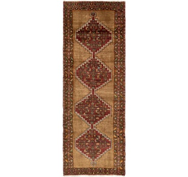 4' 4 x 12' 7 Zanjan Persian Runner Rug main image