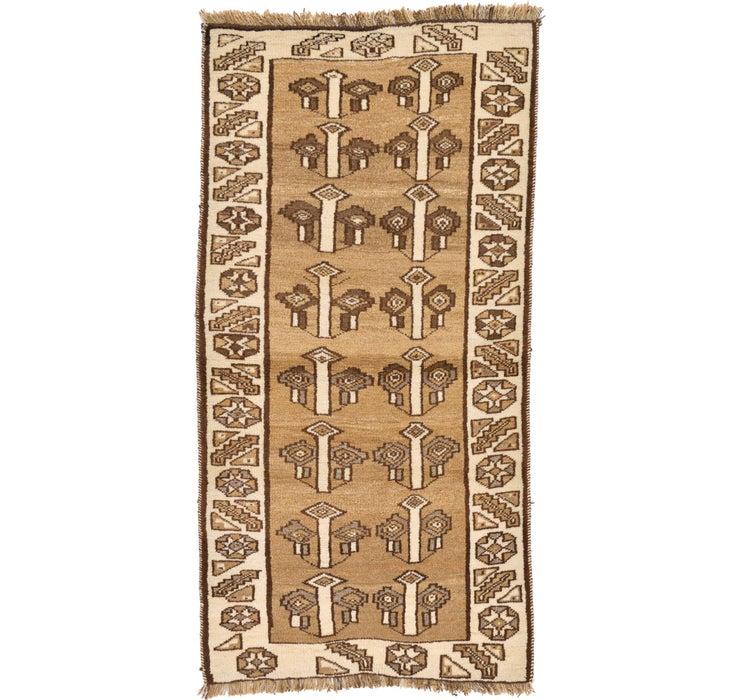 95cm x 195cm Shiraz-Gabbeh Persian Rug