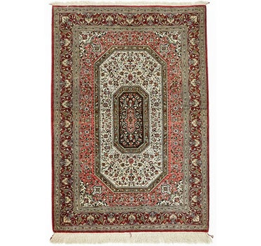3' 7 x 5' 3 Qom Persian Rug main image