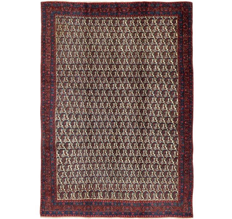 7' 3 x 10' 4 Mood Persian Rug