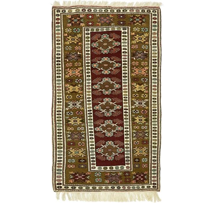 3' 7 x 6' Kars Oriental Rug