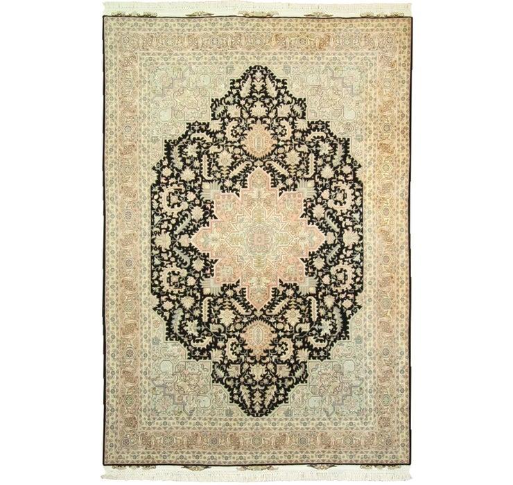 200cm x 295cm Tabriz Persian Rug