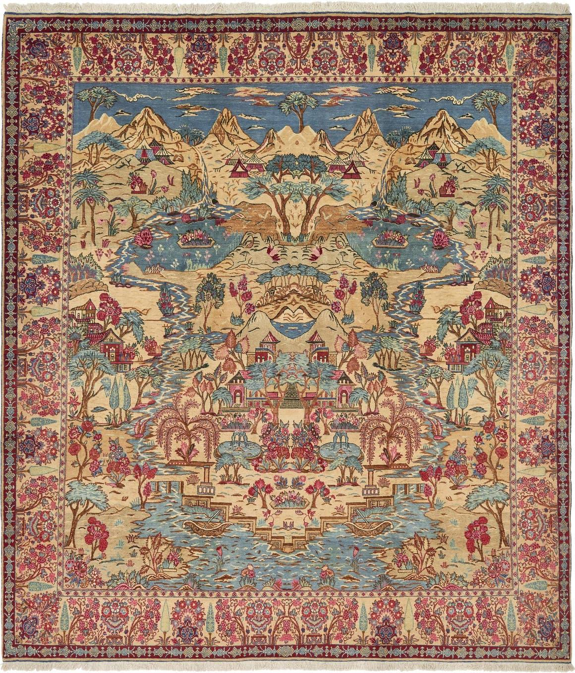 11' x 12' 7 Tabriz Persian Rug main image