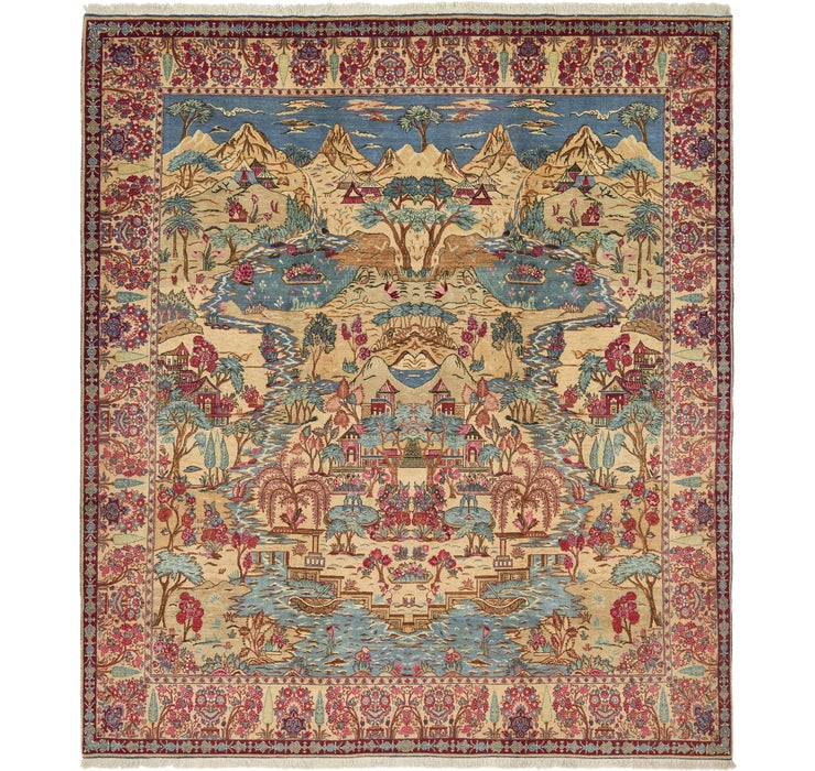 Image of 335cm x 385cm Tabriz Persian Rug