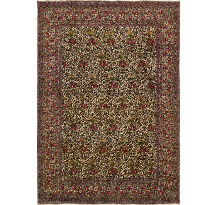 325cm x 465cm Kerman Persian Rug