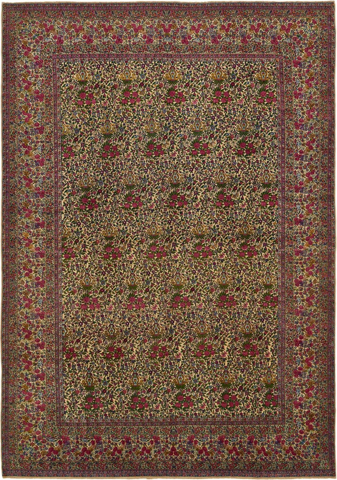 10' 9 x 15' 3 Kerman Persian Rug main image