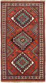 3' 11 x 6' 9 Ghoochan Persian Rug thumbnail