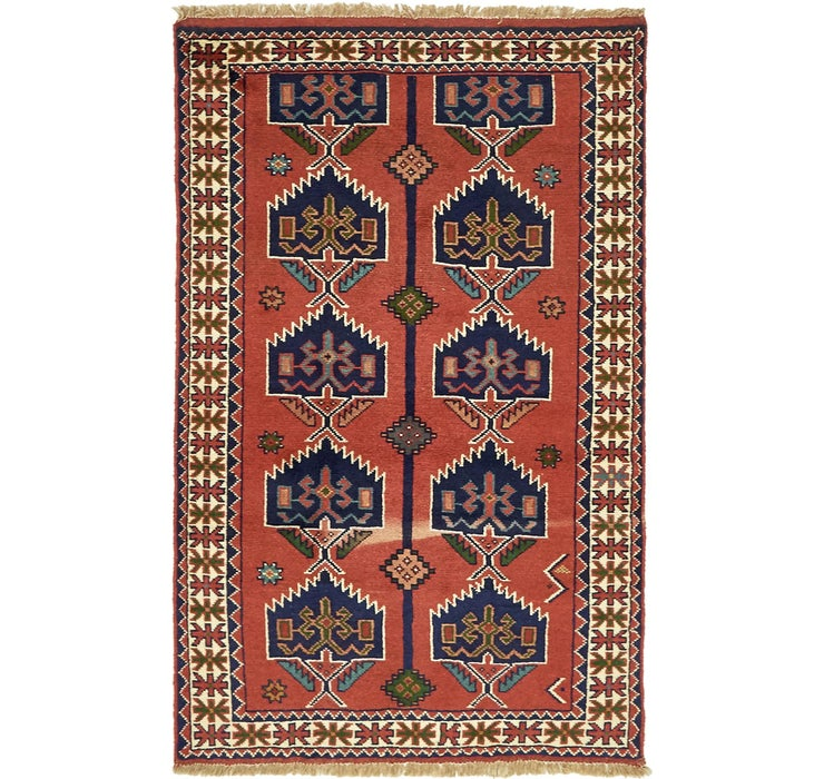 122cm x 193cm Ghoochan Persian Rug