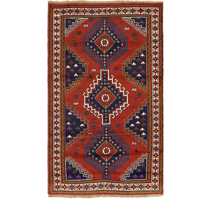 122cm x 208cm Ghoochan Persian Rug