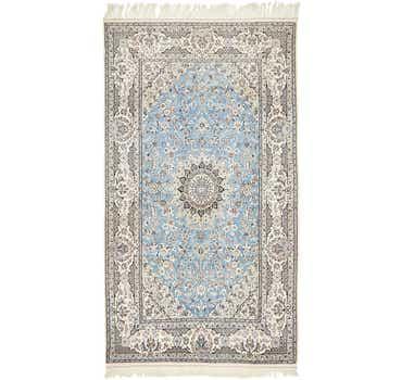 4' 10 x 8' 6 Nain Persian Rug