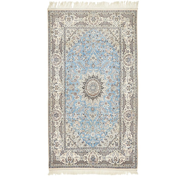 Image of 4' 10 x 8' 6 Nain Persian Rug