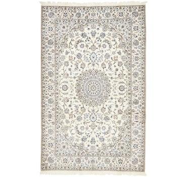 5' 1 x 8' Nain Persian Rug main image