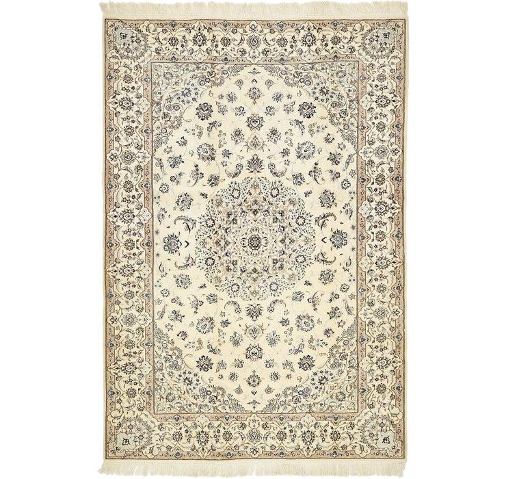 160cm x 235cm Nain Persian Rug