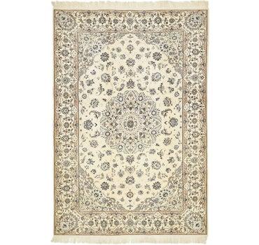 5' 3 x 7' 9 Nain Persian Rug main image
