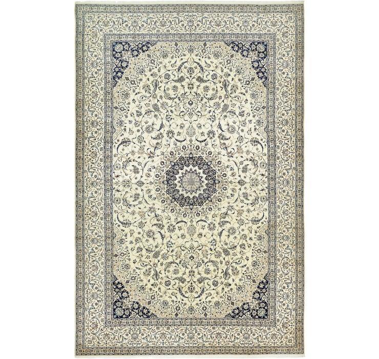 Image of 13' 3 x 20' 7 Nain Persian Rug