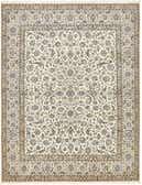 10' 4 x 13' 2 Nain Persian Rug thumbnail
