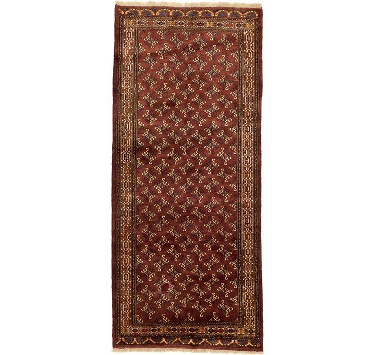 4' 8 x 10' 8 Shiraz Persian Runner Rug