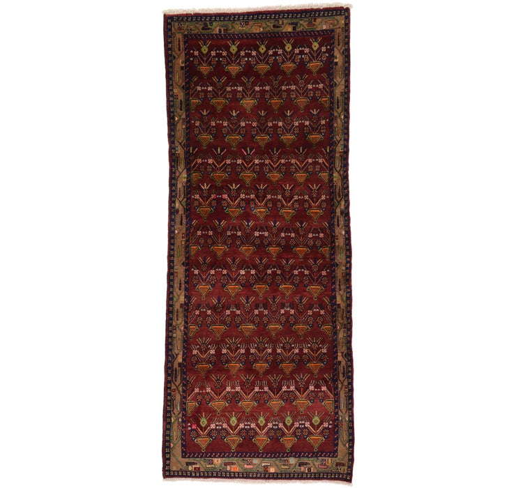 127cm x 318cm Hamedan Persian Runner ...