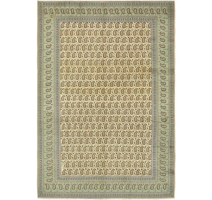8' 5 x 12' 4 Kashan Persian Rug