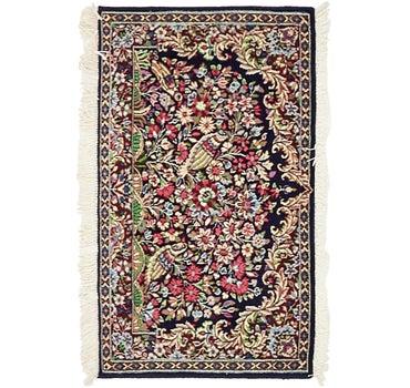 1' 7 x 2' 9 Kerman Persian Rug main image
