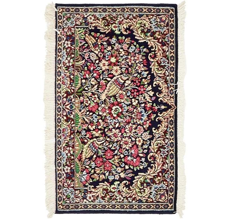 1' 7 x 2' 9 Kerman Persian Rug