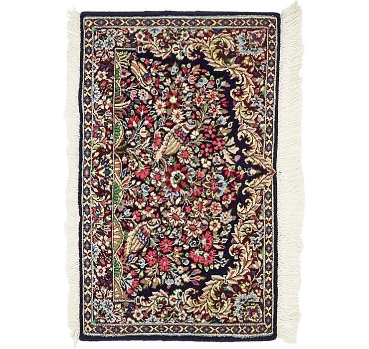 48cm x 80cm Kerman Persian Rug
