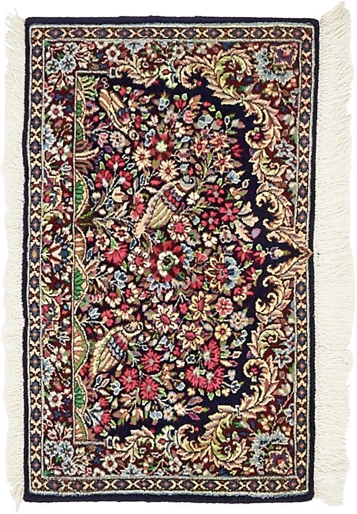 1' 7 x 2' 8 Kerman Persian Rug main image