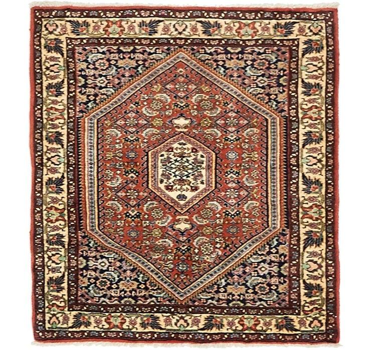 80cm x 80cm Bidjar Persian Square Rug