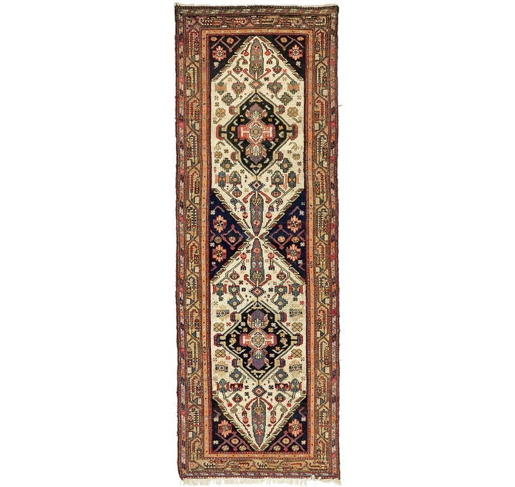 3' 7 x 10' 2 Bakhtiar Persian Runner...