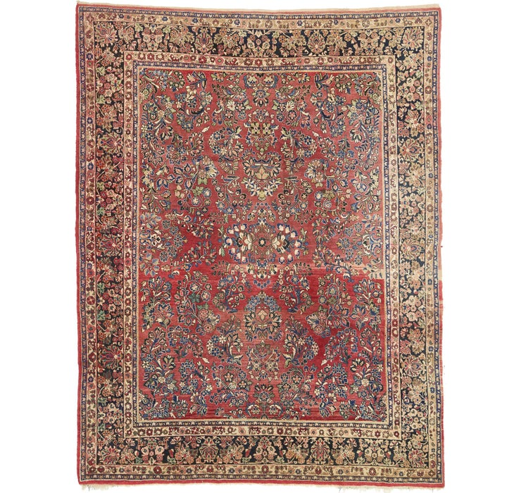 282cm x 360cm Sarough Persian Rug