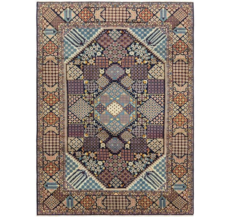 310cm x 417cm Isfahan Persian Rug