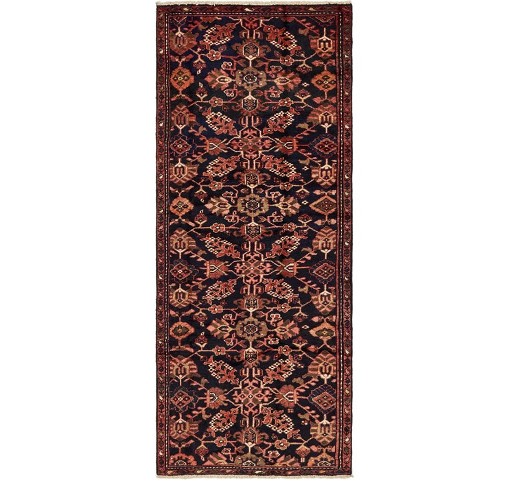 Image of 117cm x 287cm Nanaj Persian Runner Rug