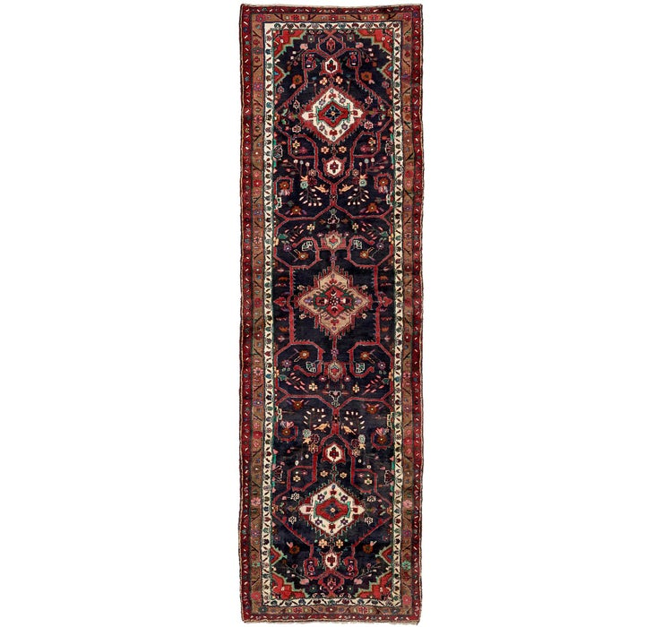 117cm x 410cm Hamedan Persian Runner ...