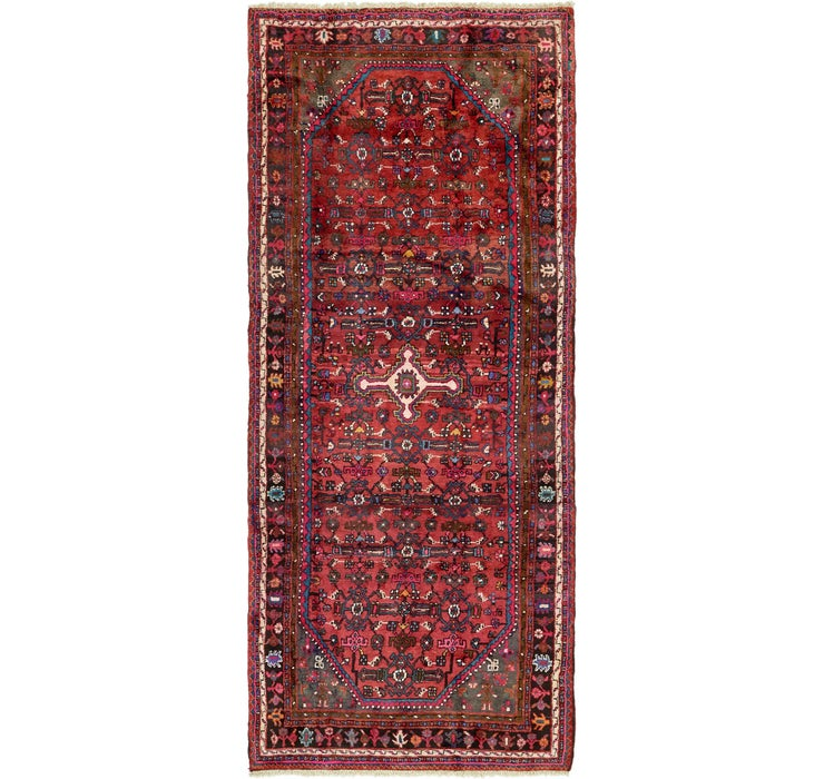 132cm x 320cm Hossainabad Persian Run...