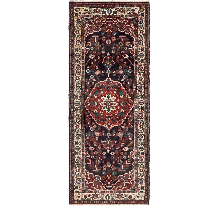 3' 8 x 9' 9 Borchelu Persian Runner...