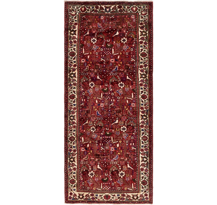 Image of 117cm x 295cm Roodbar Persian Runner ...