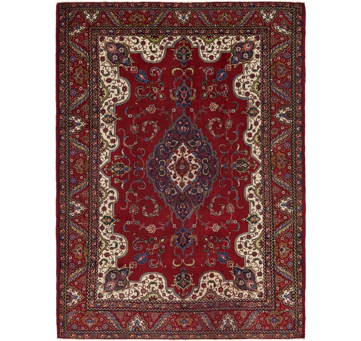 9' 5 x 12' 8 Tabriz Persian Rug