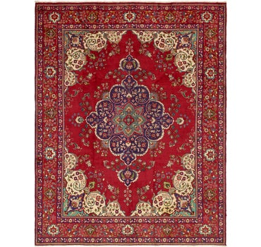 9' 10 x 12' 10 Tabriz Persian Rug main image