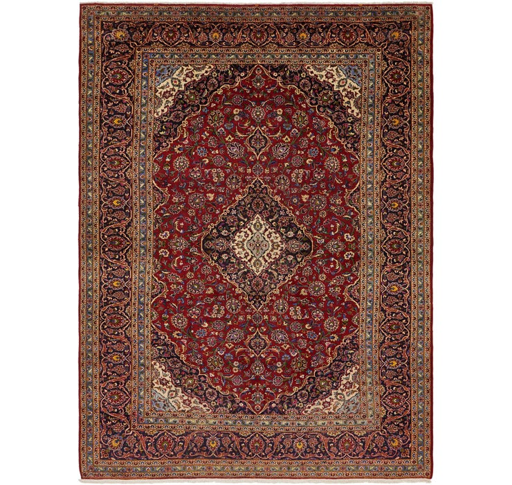 310cm x 422cm Kashan Persian Rug