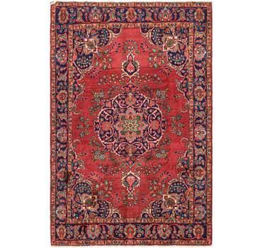 Image of  6' 7 x 9' 9 Tabriz Persian Rug