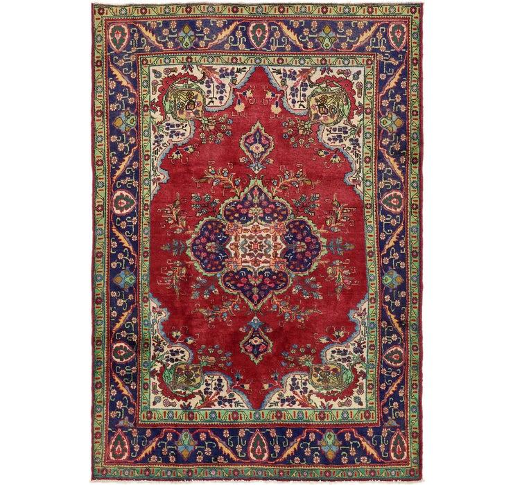 6' 10 x 10' 2 Tabriz Persian Rug