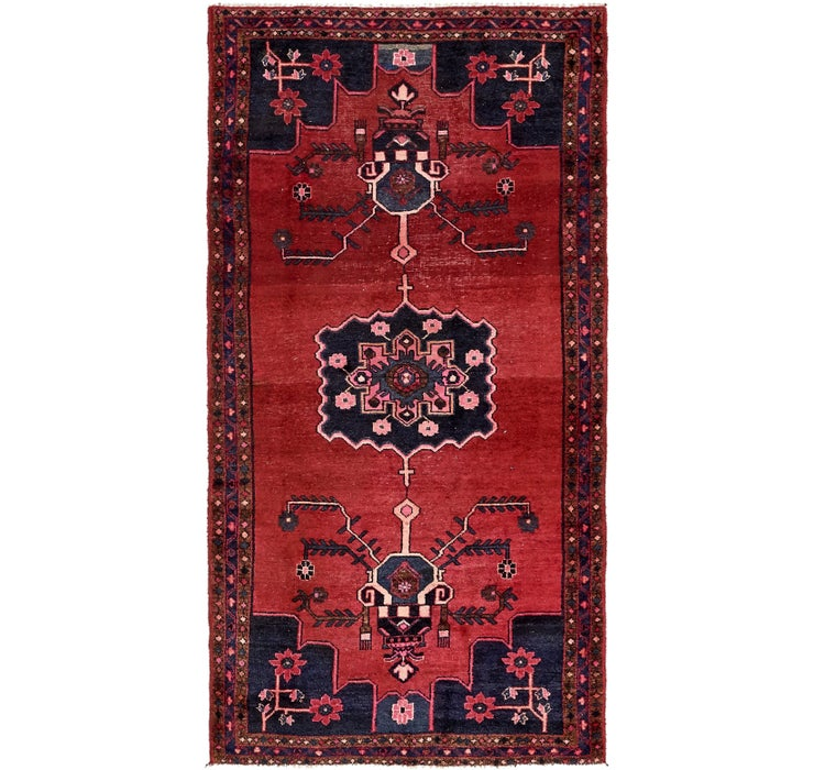4' 6 x 8' 6 Hamedan Persian Rug