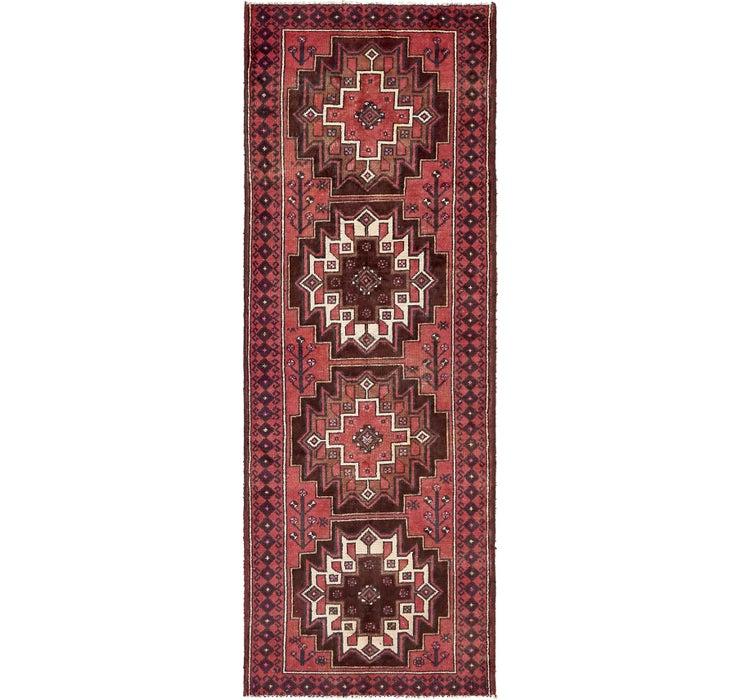 3' 6 x 9' 6 Ferdos Persian Runner Rug